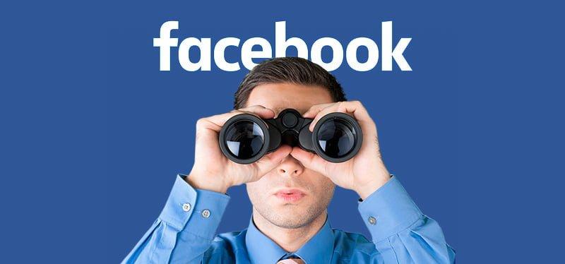 Voyeurismo en Facebook, bodas, fiestas y restaurantes