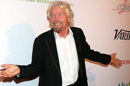 Richard Branson de Virgin - Ignacio Isusi