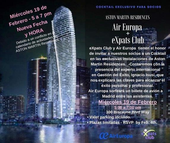 Charla Air Europa y Club eXpats - Ignacio Isusi